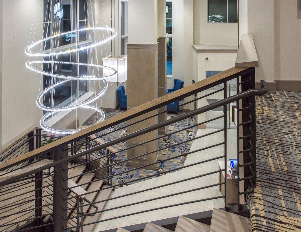 Hyatt Place Asheville stairwell