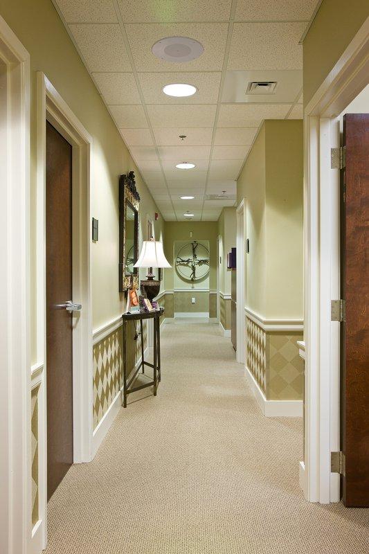 Dr. Carroll Opthomology hallway