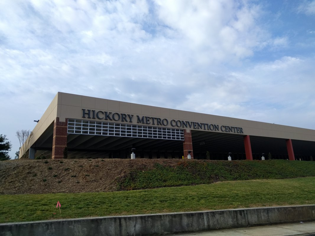 Hickory Metro Center exterior