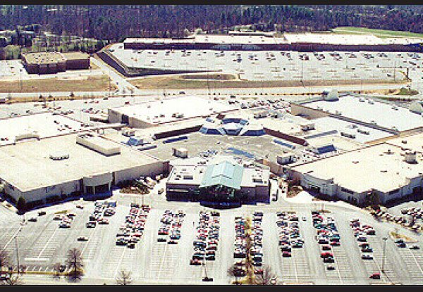 Valley Hills Mall Aerial