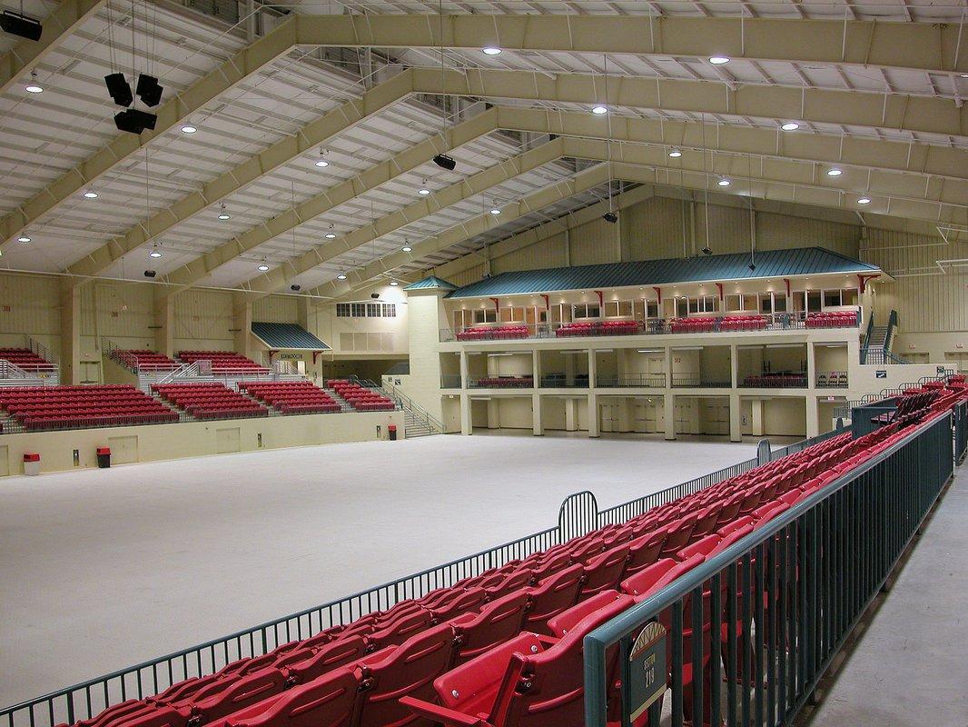 Cabarrus Arena interior