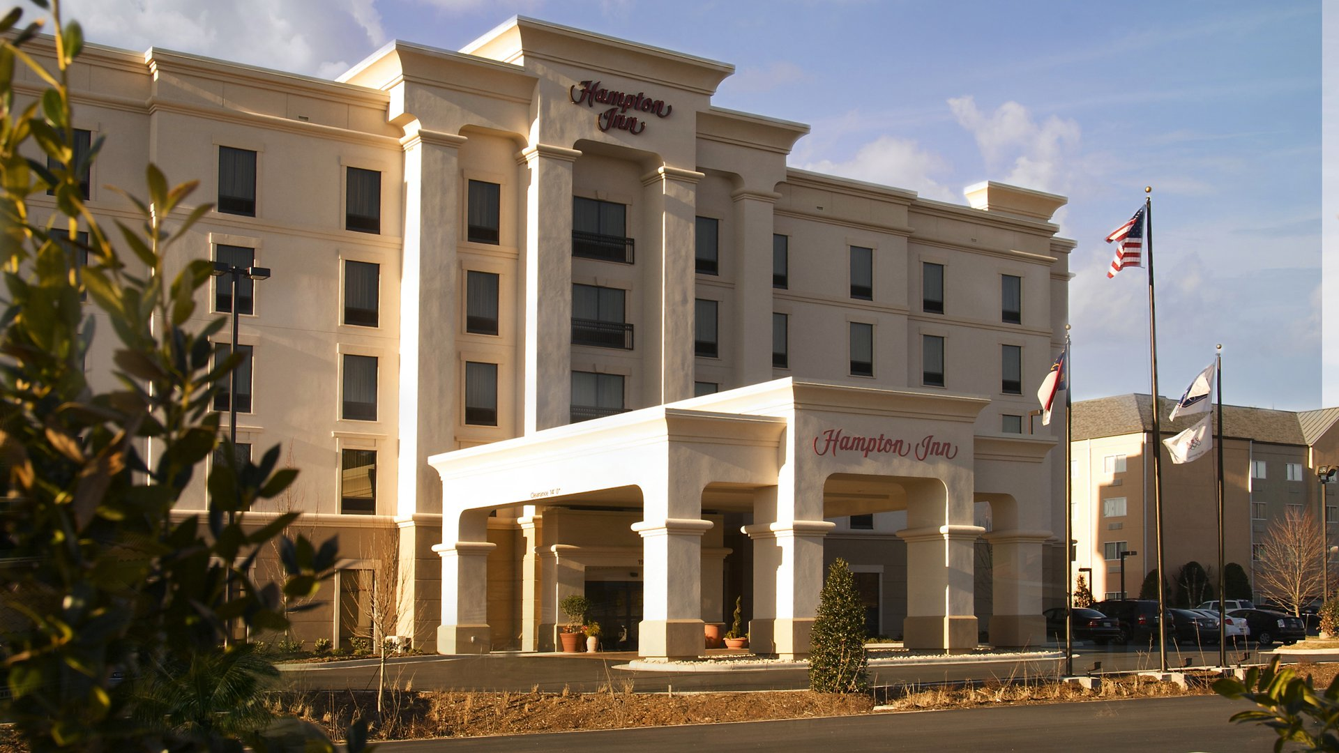 Hampton Inn Hickory front