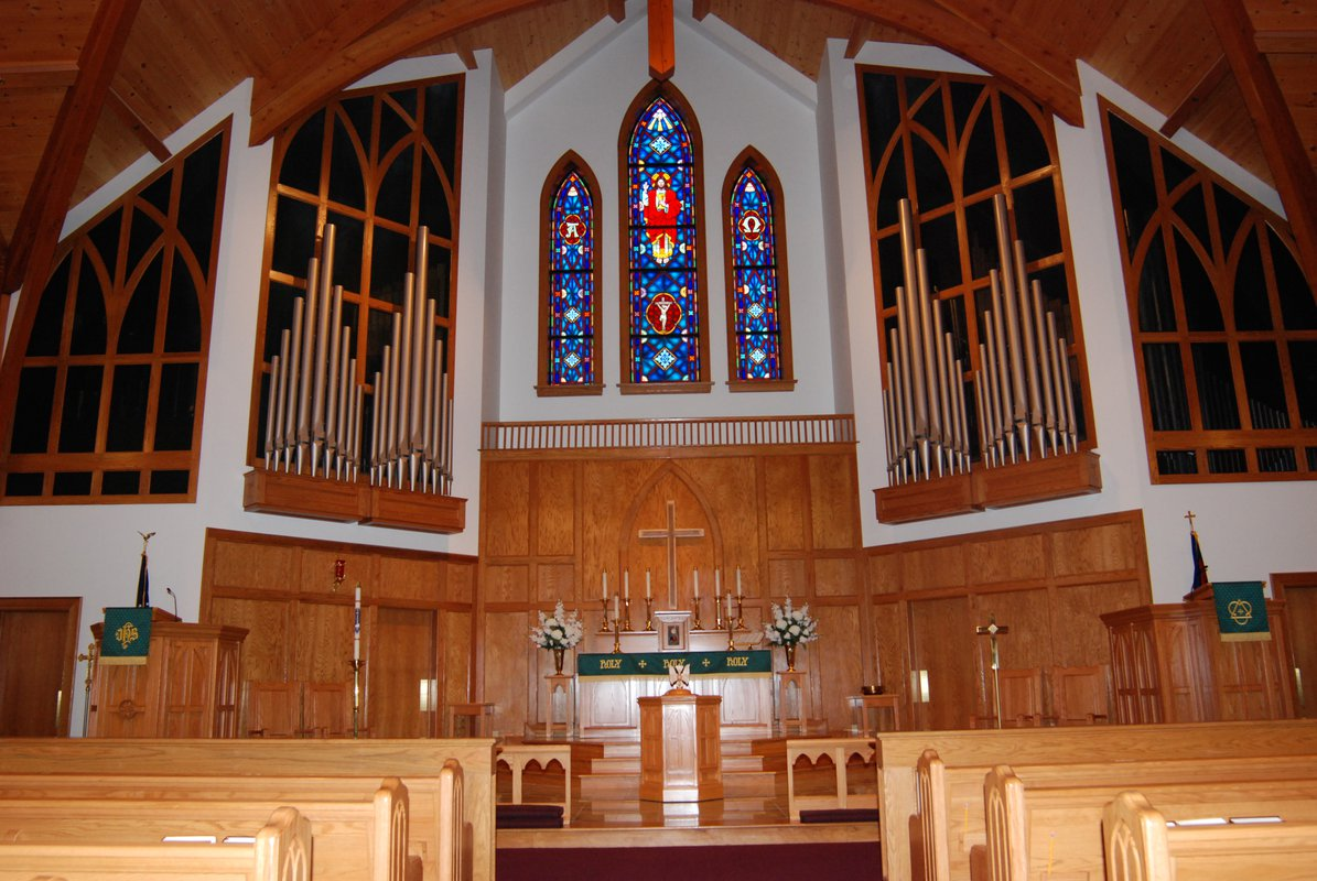 St. John's Lutheran Church interior front