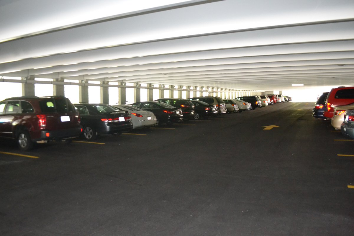 Hickory Metro Center parking