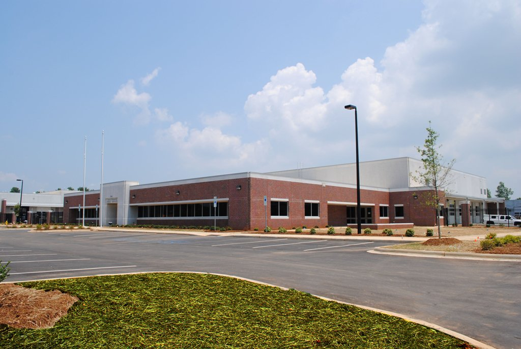 Exterior, Mooresville Public Operations Center
