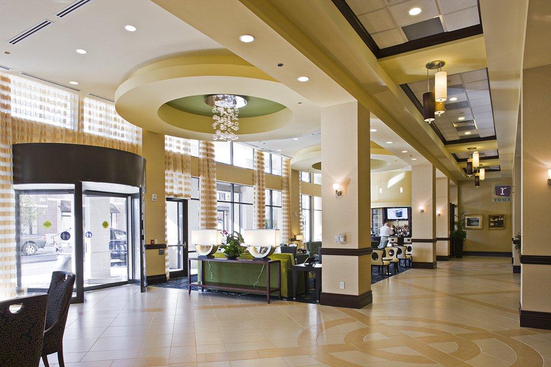LOBBY 2 Biltmore Hilton, Asheville NC