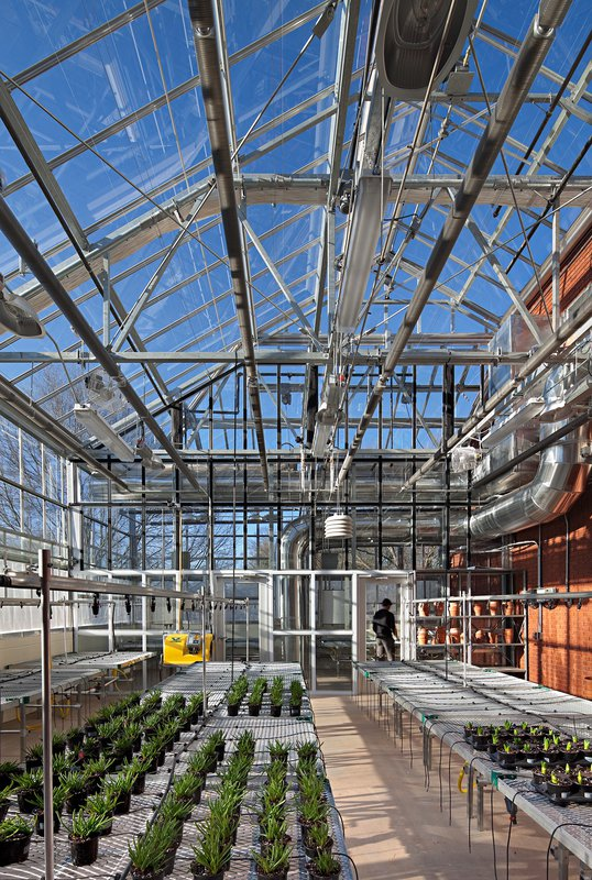 Rogers Science Center greenhouse