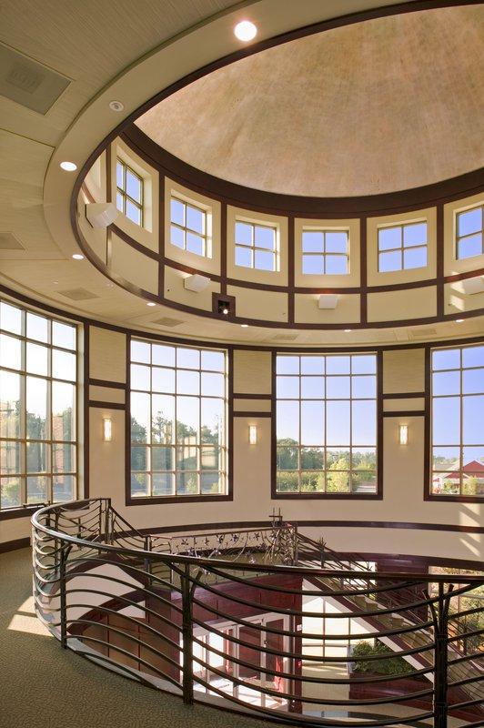 Rosedale Medical Center, inside stairwell