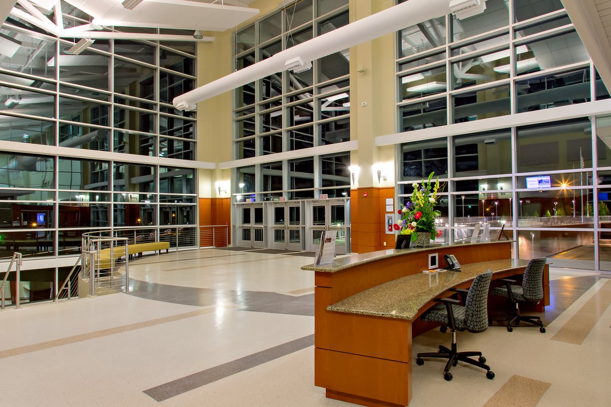 LeGrand Conference Center interior lobby