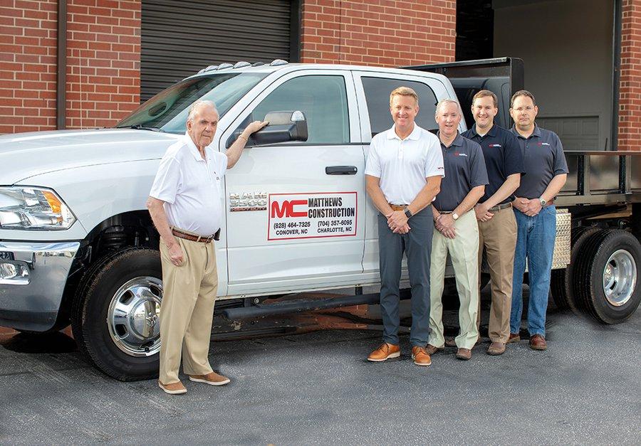 Matthews Construction Team
